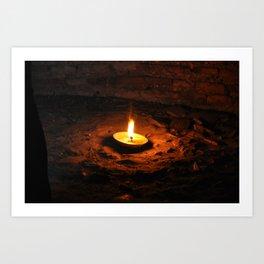 Light of hope Art Print