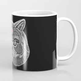 The All Seeing Cat Coffee Mug