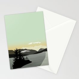 Misty Mountain II Stationery Cards