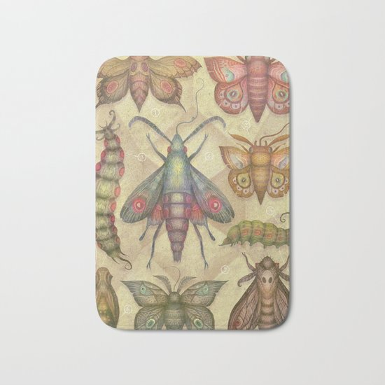 Entomology Tab. V Bath Mat