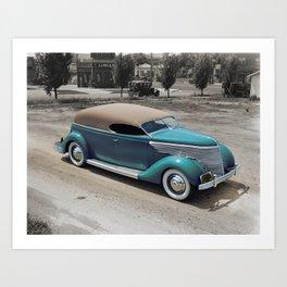So Calif. Plating 1935 Truck Art Print