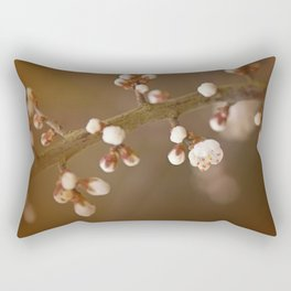 late sun blossoms Rectangular Pillow