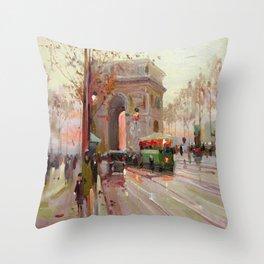 Triumphal arch Throw Pillow