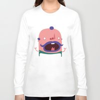 chef Long Sleeve T-shirts featuring French Chef by DooDoo