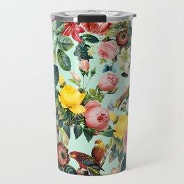 Floral and Birds III Travel Mug