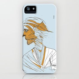 Ballad of the Lonesome Wolfboy  iPhone Case