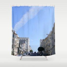 Lanes Shower Curtain