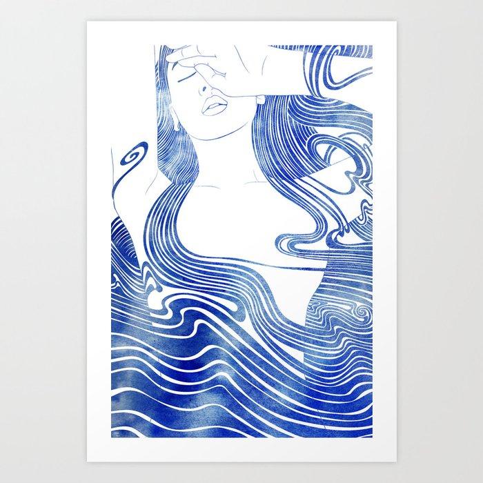 Galene Art Print