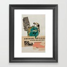 Unusual Optical  Framed Art Print