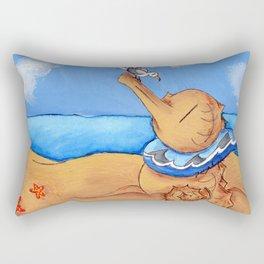Beach Buddies Rectangular Pillow