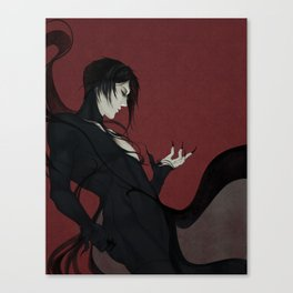 That butler, disguised Canvas Print