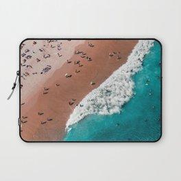 Surfers Surfing Bondi Beach Laptop Sleeve