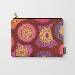 Ethnic Mandala Pattern Carry-All Pouch