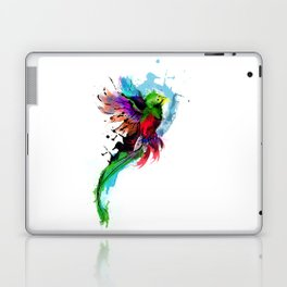 Watercolor Quetzal  Laptop & iPad Skin