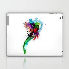 Watercolor Quetzal  Laptop & iPad Skin