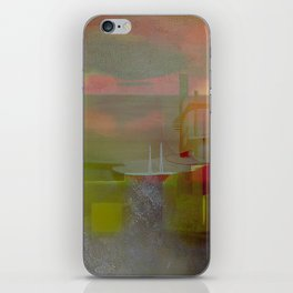 City in weightlessness iPhone Skin