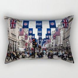 Regent Street, London Rectangular Pillow