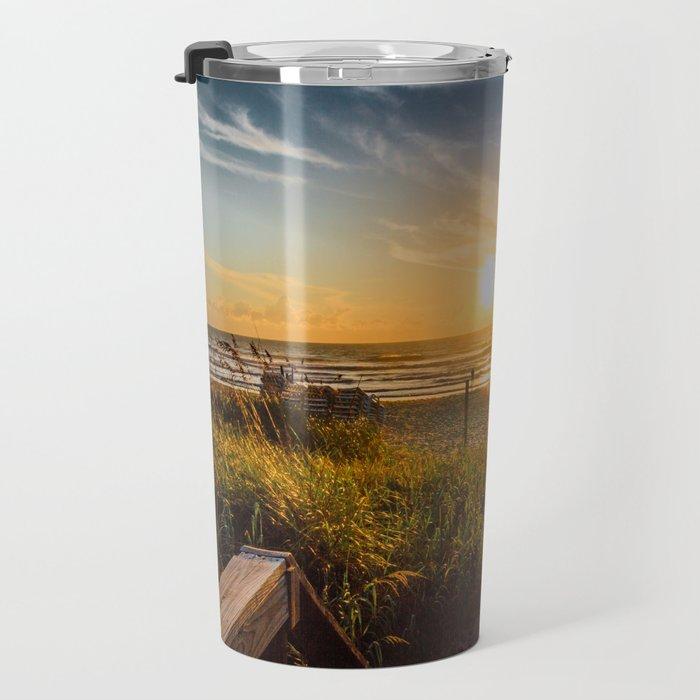Sunrise at Cocoa Beach Travel Mug