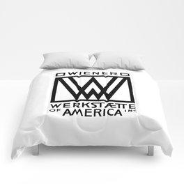 Wiener Werkstaette of America Comforters