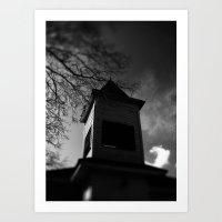 dark tower Art Prints featuring Dark Tower by Camrachiq