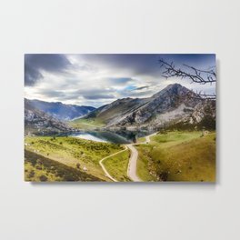 The Lakes of Covadonga, Enol Metal Print