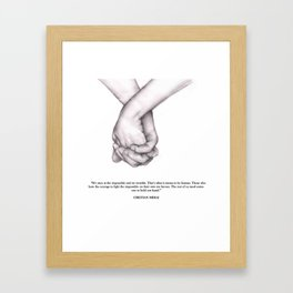 Happiness Two Framed Art Print