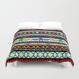 Tribal Beads Duvet Cover