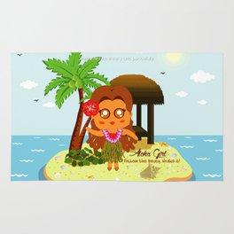 Aloha Girl Rug