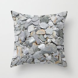 Slate Chipping Overhead Throw Pillow