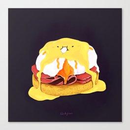 Egg Benedict Canvas Print