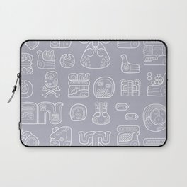 Picto-glyphs Story Laptop Sleeve