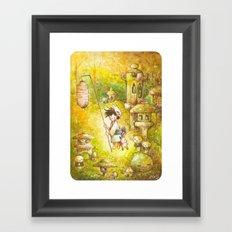 Niwashi no Babu-Kun Framed Art Print