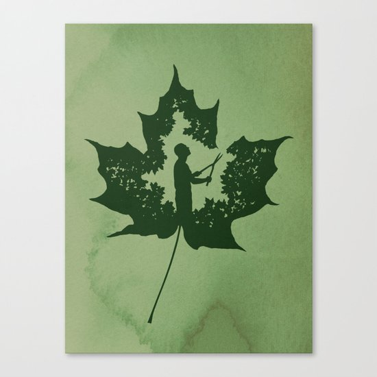A New Leaf Canvas Print