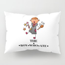 The Boy Who Ate - Ron Weasley Pillow Sham