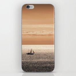 Somewhere beyond the sea iPhone Skin