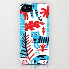 Tropicats iPhone Case