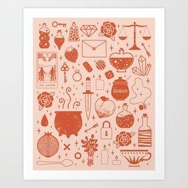 Love Potion: Valentine Art Print
