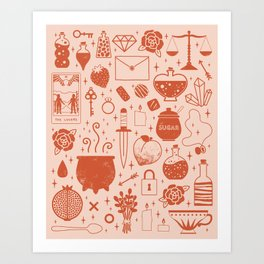 Love Potion: Valentine Art Print