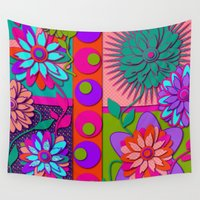 good morning Wall Tapestries featuring Good Morning  by DesignsByMarly