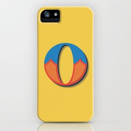 The Letter O iPhone Case