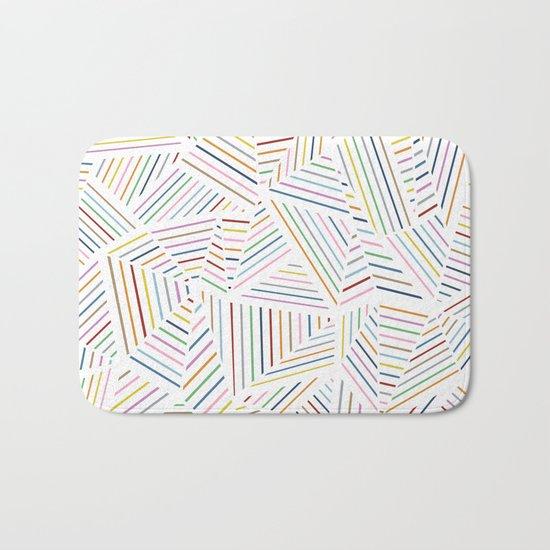 Ab Linear Rainbowz Bath Mat