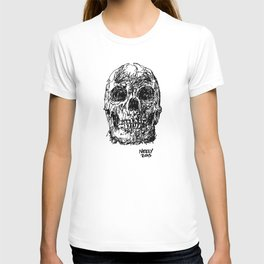 Badass Skull Study T-shirt