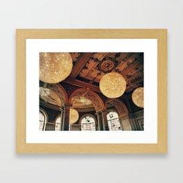 Great Balls of Fire Framed Art Print