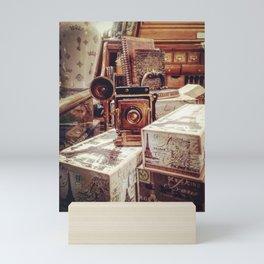 Antique Display - Sante Fe, Colorado Mini Art Print