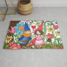 Forest Love Rug