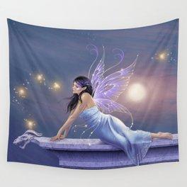Twilight Shimmer Wall Tapestry
