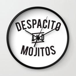 Despacito And Mojitos Wall Clock