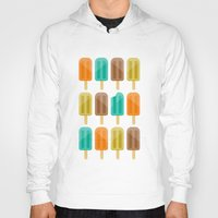 popsicle Hoodies featuring Popsicle by Liz Urso