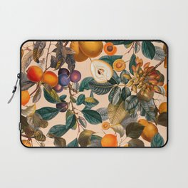 Vintage Fruit Pattern IX Laptop Sleeve