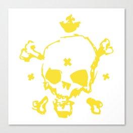 XXX Skull Canvas Print